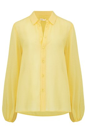 Levete Room  Felina Shirt in Yellow