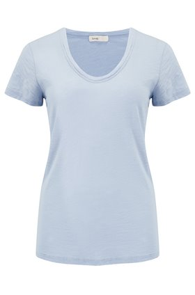 Levete Room  Any Scoop T-Shirt in Light Blue