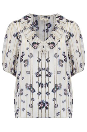 Levete Room  Elfi Floral Top in Cream