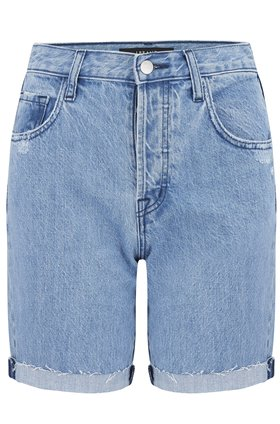 J Brand Billey High Rise Denim Short in Acoustic