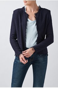 shavani jacket in navy