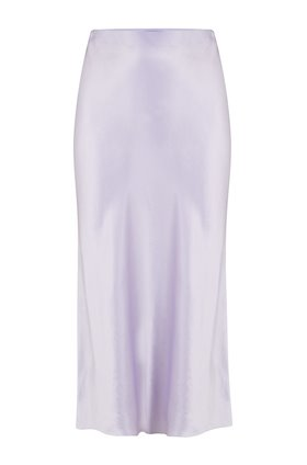 Vince Slip Skirt in Pale Iris