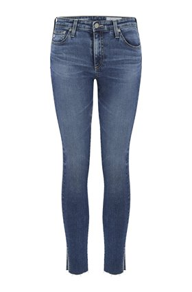 AG Legging Ankle Jean in 12 Years Fluid