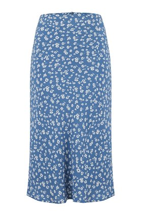 Rails London Skirt in Blue Daisies