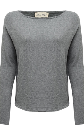 American Vintage Sonoma Sweatshirt in Heather Grey