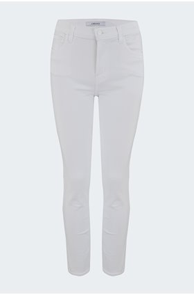 ruby cropped jean in blanc