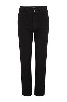 J Brand Jules High-Rise Straight Leg Jean in Hustle