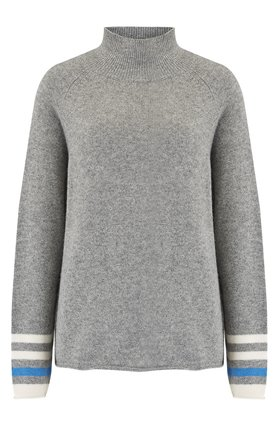 Jumper1234 Secret Stripe Winter Jumper in Grey
