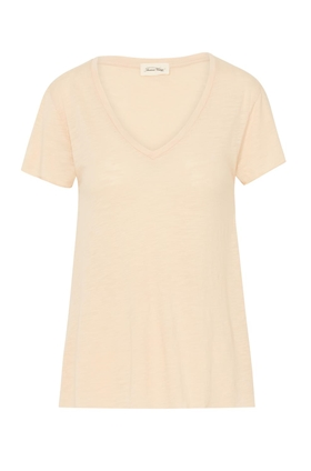 American Vintage Jac51 Short Sleeve T-Shirt in Sand