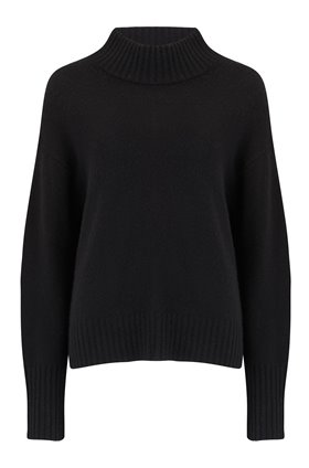 360 Sweater Lyla Jumper in Black
