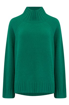 360 Sweater Margaret Jumper in Emerald