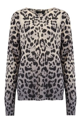 360 Sweater Juliana Jumper in Leopard Print
