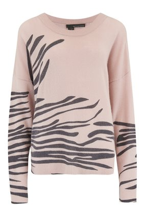 360 Sweater Molly Jumper in Zebra Print