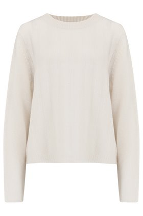 360 Sweater Brooke Jumper in White