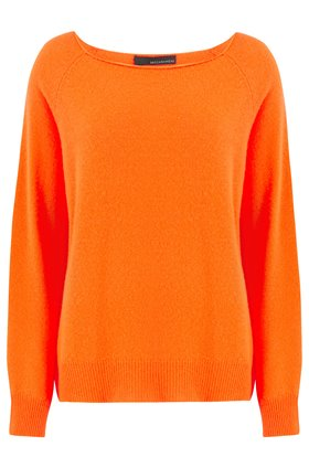 360 Sweater Jolene Crew Neck Jumper in Laser Orange