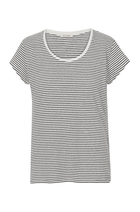 Ixa T-Shirt in Natural Stripe