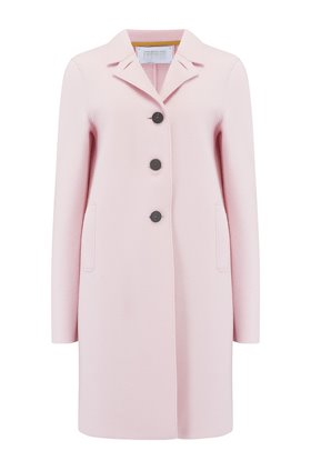 Harris Wharf London Boxy Coat in Blush Pink