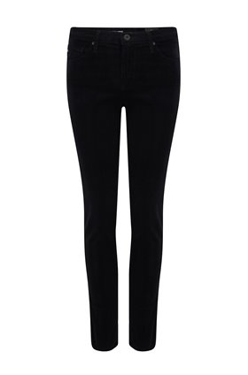 AG Jeans Prima Ankle in Super Black Corduroy