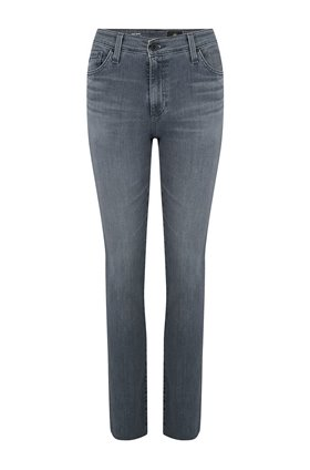 AG Jeans Mari Straight Leg Jean in Grey Light