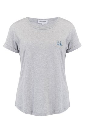like short sleeve tee in grey