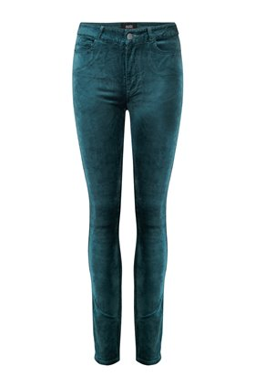 Paige Hoxton Velvet Ultra Skinny in Atlantic