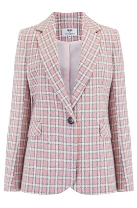 Helene Berman Carinne in Pink White Check