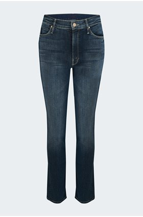 mid rise dazzler ankle jean in on the edge
