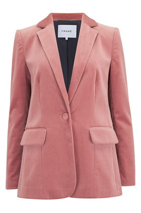 Frame Classic Blazer in Old Rose