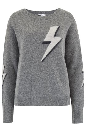 Rails Virgo Bolted Jumper in Grey