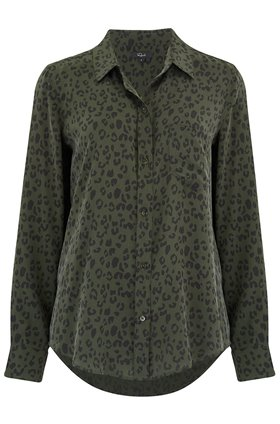 Rails KATE TOP IN OLIVE CHEETAH