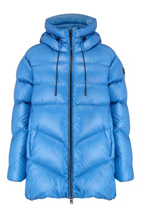 Woolrich Packable Birch Jacket in Bright Blue