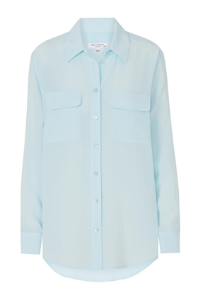 Signature Shirt in Cool Breeze