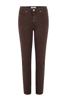 Paige Hoxton Slim in Vintage Truffle Brown