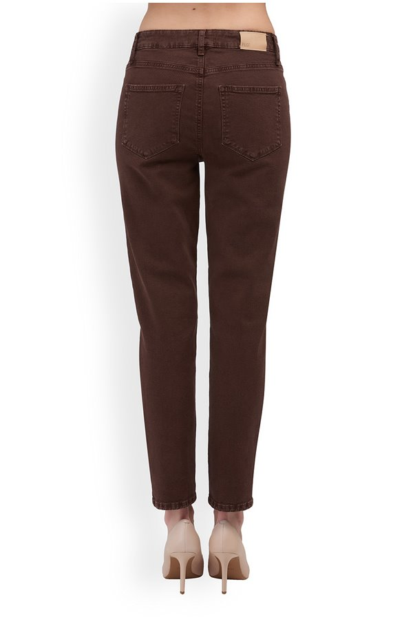 hoxton slim in vintage truffle brown