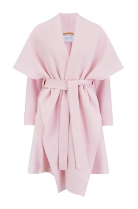 Harris Wharf London Blanket Coat in Blush