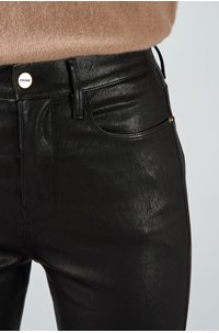 le syvlie leather in noir