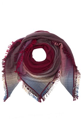 DOUCE GLOIRE HORIZON SCARF IN RED