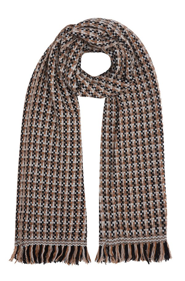 NATTEY SCARF IN BEIGE MIX