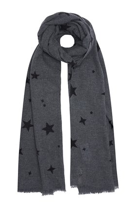 DOUCE GLOIRE KAYOKO SCARF IN CHARCOAL