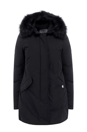 Woolrich SHEARLING ARCTIC PARKA in black