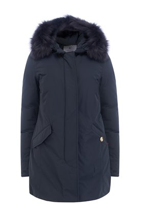 Woolrich SHEARLING ARCTIC PARKA in MIDNIGHT