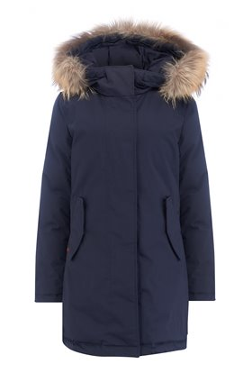Woolrich TIFFANY PARKA in MELTON BLUE