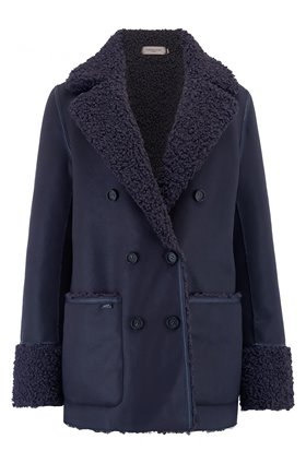 Urbancode SIRIS COAT IN NAVY