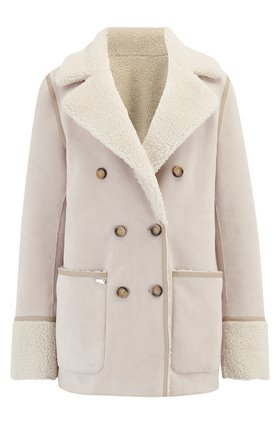 Urbancode Siris coat in Stone