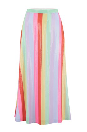 Olivia Rubin  Penelope Skirt in Fall Stripe