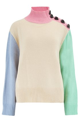 Olivia Rubin  Lyla Jumper in Colour Block