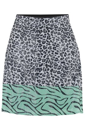 libby skirt in mono leopard