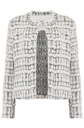 IRO Julina Tweed Jacket in Ecru