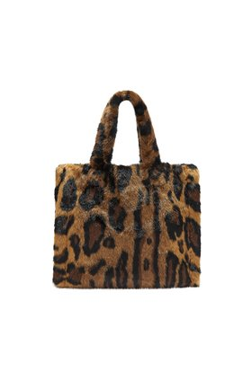 Stand  Lolita Teddy Bag in Animal Print