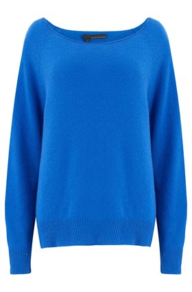 360 Sweater Jolene Jumper in Electric Blue